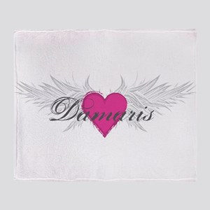 My Sweet Angel Damaris Throw Blanket